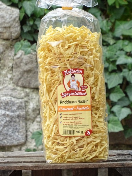 Knoblauch Nudeln